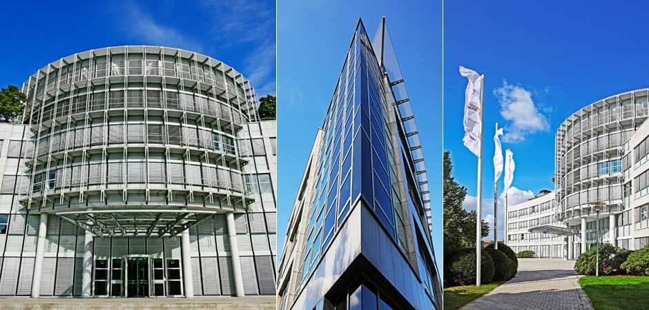 Firmengebäude der Heise Medien Gruppe