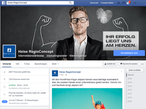 Facebook Unternehmensseite erstellen