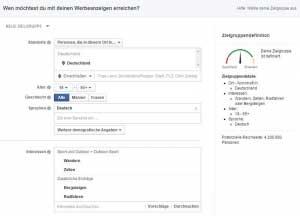 Werbeanzeigen schalten Facebook