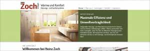 Zoch-Homepage
