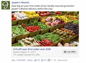 facebook marketing offers gutscheine