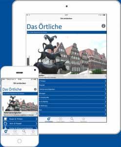 Die Bremen-App von Das Örtliche - Reise-und Freizeitführer