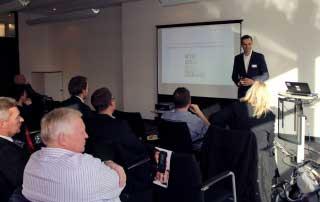 Heise Agency Day 2014 Begrüßung durch Geschäftsführer Karsten Marquardsen