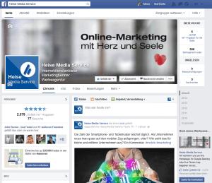 Facebook Unternehmensseiten