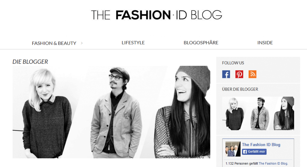 Fashion ID Blog
