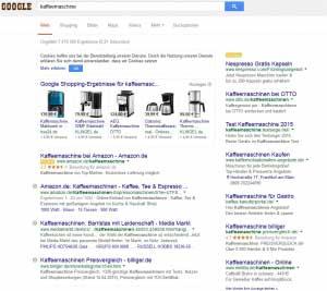 Sponsorenlinks Google