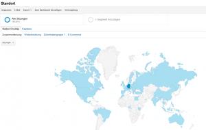 Google Analytics Zugriffe