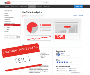 YouTube Analytics Teil 1