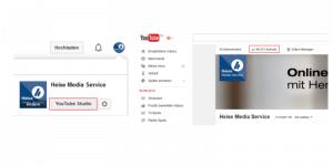 YouTube Analytics anmelden