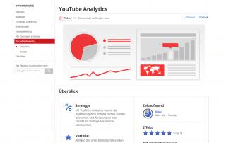 YouTube Kanal analysieren