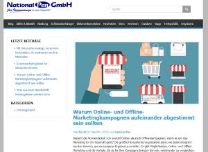 Auszug aus dem Corporate Blog von der National Pen GmbH