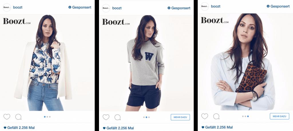 Carousel Ads Instagram