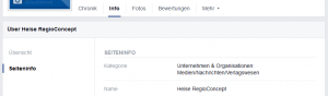 Facebook Fanpage umbenennen