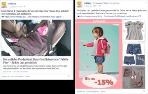 Facebook Marketing Beispielposting