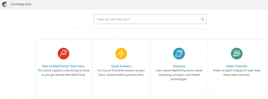 Mailchimp Knowledge Base