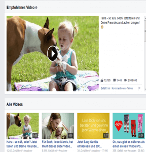 facebook Video miBaby