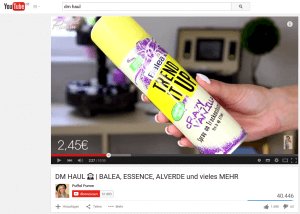YouTube Product Placement