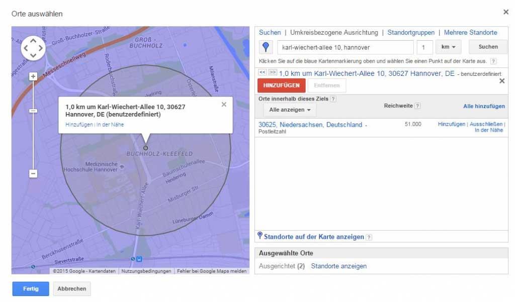 Google AdWords Kampagne für Mobilgeräte erstellen_Gebote_erhöhen