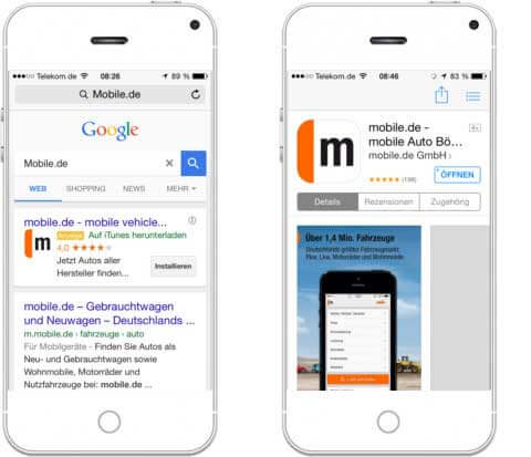 Google AdWords für Mobilgeräte erstellen_App-Download-Kampagne-Heise-Regioconcept