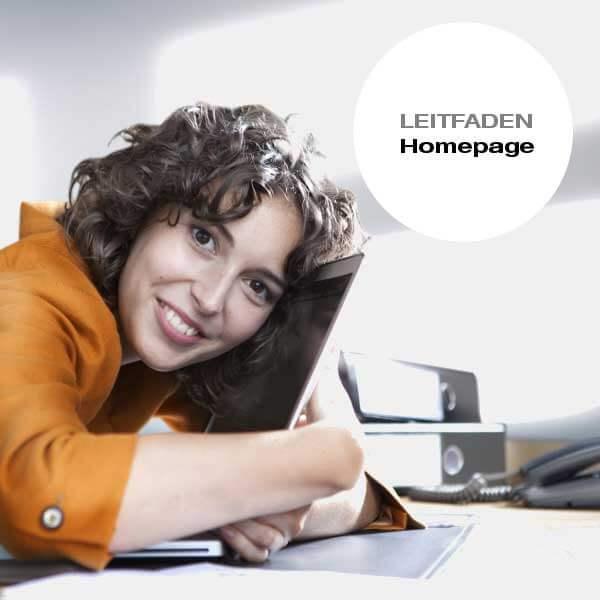 Leitfaden Homepage