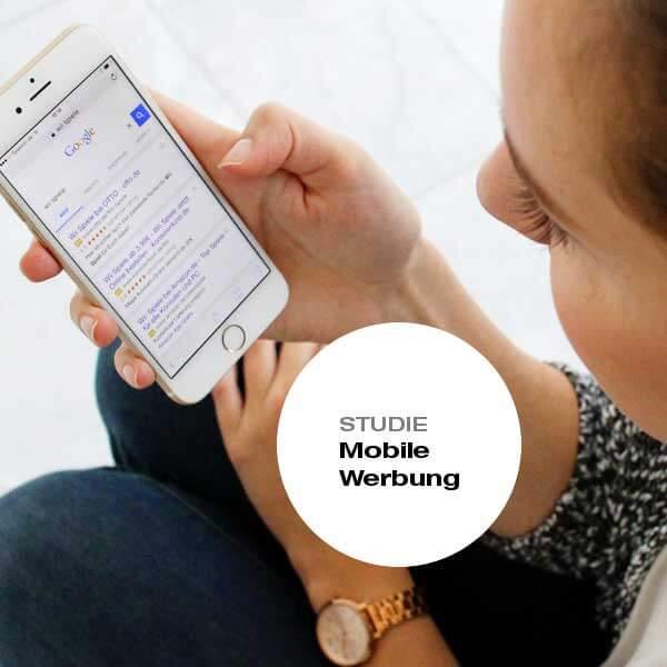 Studie Mobile Werbung