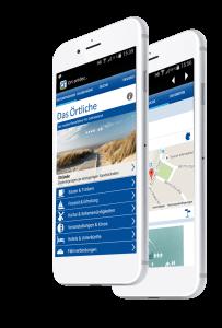 Das Örtliche App auf dem Smartphone