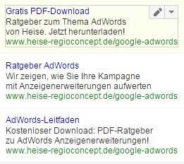 Content-Promotion_Google Display Netzwerk Textanzeigen