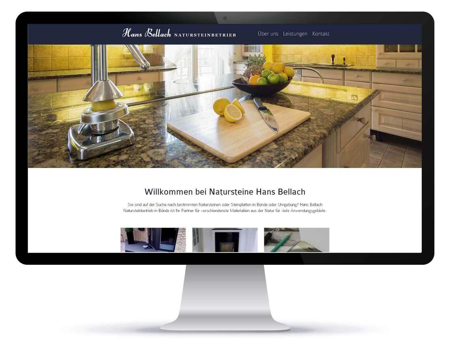 Homepage_Hans Bellach