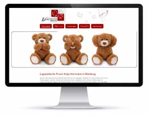 Homepage_Logopaedische Praxis