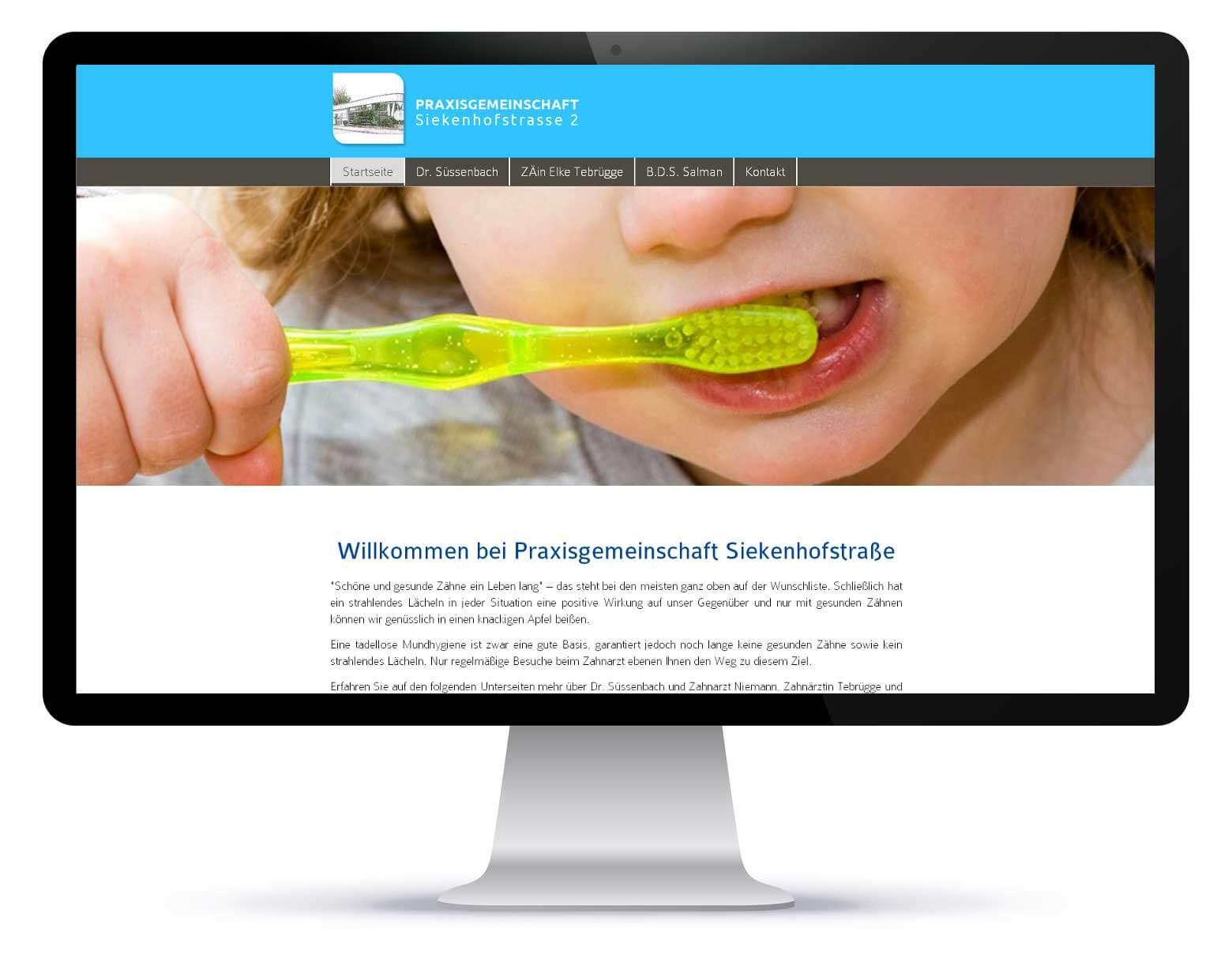 Homepage_Praxis Siekenhofstrasse