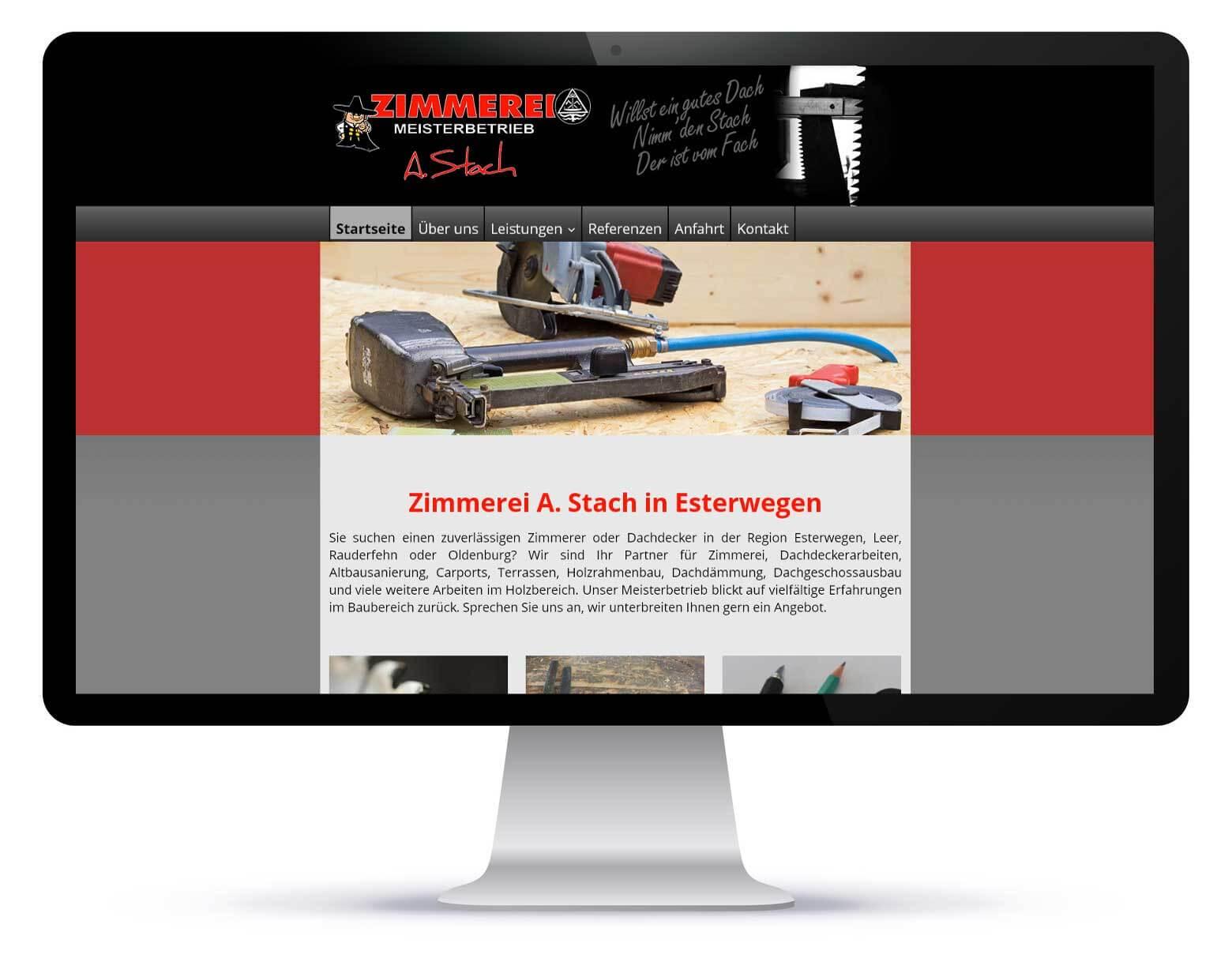 Homepage_Zimmerei Stach