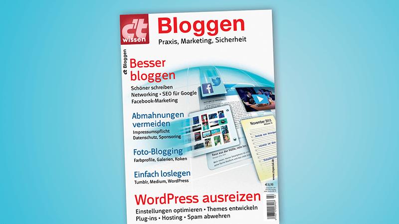 Besser Bloggen ct Sonderheft