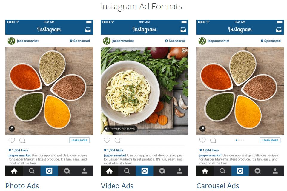 Instagram Unternehmen Beispiel
