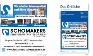Telefonbuchwerbung_Schomakers_Anzeige