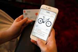 Online-Shopping Mobil