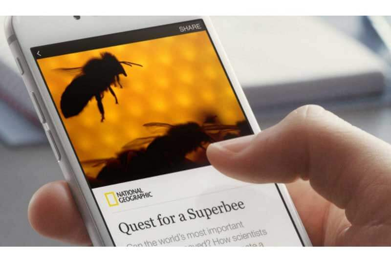 Facebook Instant Articles © Facebook