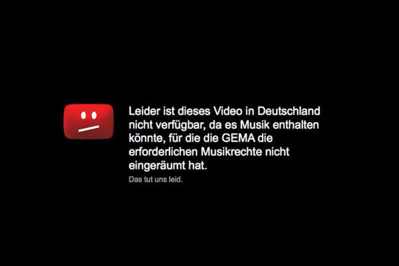 Urheberrecht auf YouTube