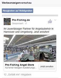 Regionale Facebook Werbung 3