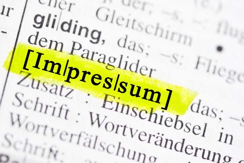 Strenge Pflicht für Websites: Ein Impressum ist fast immer ein Muss