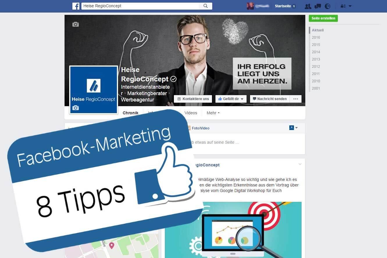 Facebook-Marketing Tipps