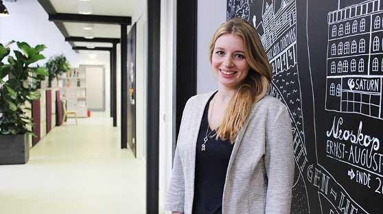 Alina Lipka Content Managerin