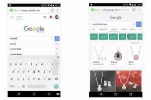 Google Anzeigen in der Bildersuche