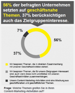 Quelle: Content-Marketing-Studie 2014/2015 von Namics (S. 43).