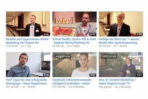 Heise RegioConcept auf YouTube
