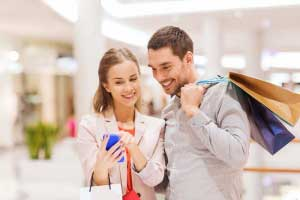 Einkaufen Smartphone Micro Moments