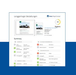 Screenshot Heise Digitalcheck