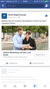 Facebook-Lead-Ads Schritt 1