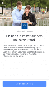 Facebook-Lead-Ads Schritt 1