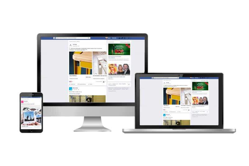 Facebook Werbeformate