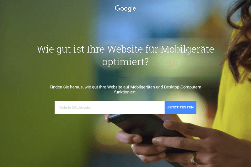 Google Test My Site